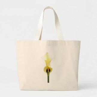 Yellow Calla Lily Tote Bag