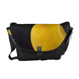 Yellow Calla Lily Messenger Bag