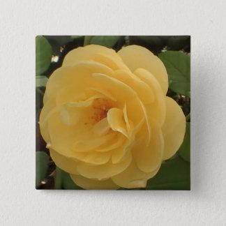 Yellow Camellia Button