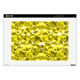 Yellow Canary Diamonds Skins For Laptops