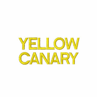YELLOW, CANARY EMBROIDERED JACKET