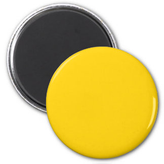 Yellow Canary Solid Color - Customizable Refrigerator Magnet