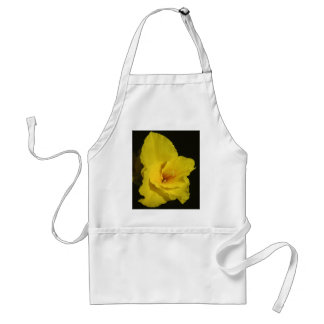 Yellow Cannas Canna Lilies Flower Photo Adult Apron