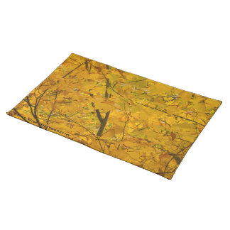 Yellow Canopy Cloth Placemat