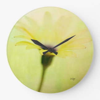 Yellow Cape Daisy Clock from Lois Bryan
