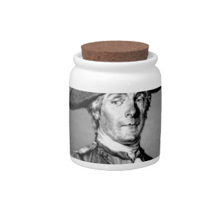 yellow captain jones candy dish