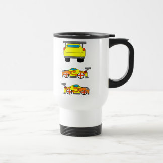 Yellow Car Mug