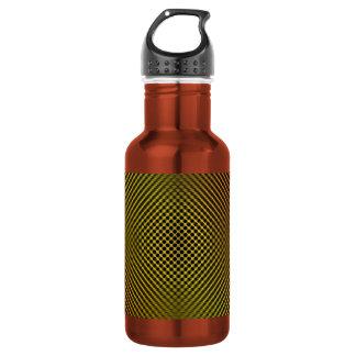 yellow carbon fiber vo.1 18oz water bottle