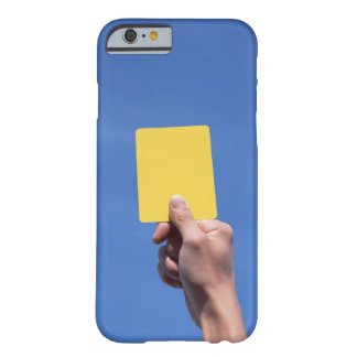 Yellow Card Barely There iPhone 6 Case