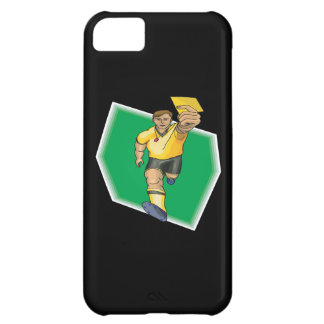 Yellow Card iPhone 5C Cover