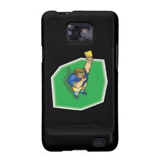 Yellow Card Samsung Galaxy SII Case