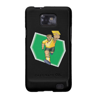 Yellow Card Samsung Galaxy S2 Cover