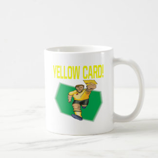 Yellow Card Coffee Mug