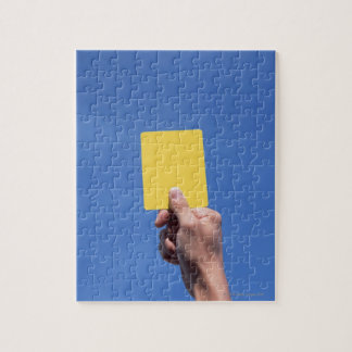 Yellow Card Jigsaw Puzzle
