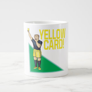 Yellow Card Large Coffee Mug