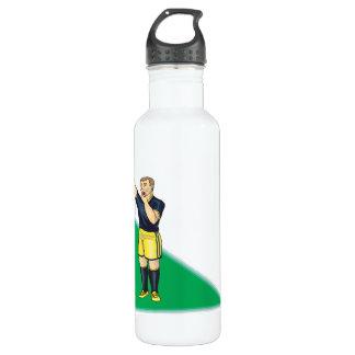 Yellow Card Water Bottle