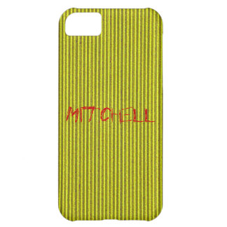 Yellow Cardboard iPhone 5 Cover Template