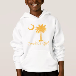 Yellow Carolina Girl Palmetto Hoodie