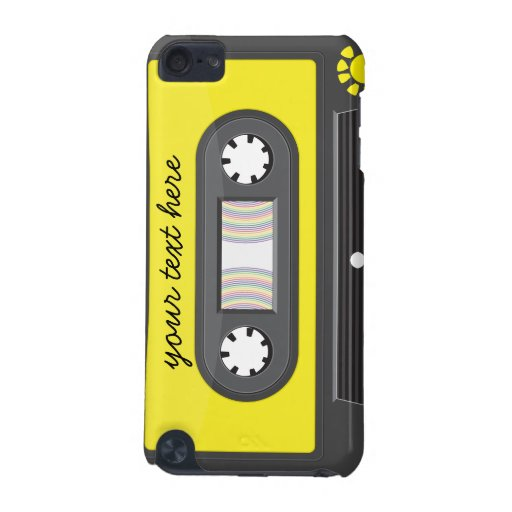 yellow cassette rainbow tape iPod Touch Speck iPod Touch 5G Cases