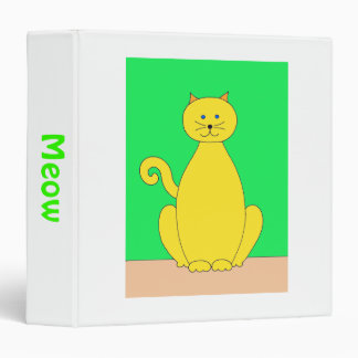 Yellow Cat Binder