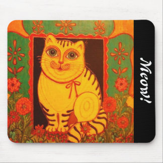 Yellow Cat Products Mouse Pad