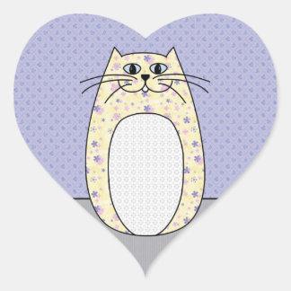 'Yellow Cat' Sticker