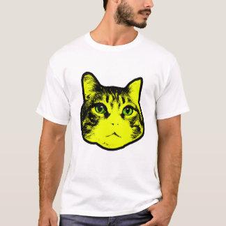 Yellow cat T shirt