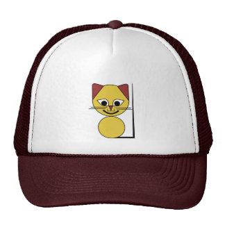 Yellow Cat Trucker Hat