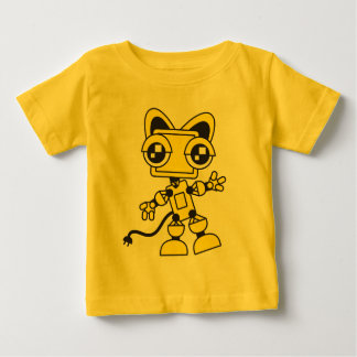 Yellow Catbot Baby T-Shirt