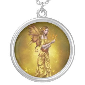 Yellow Celestial Fairy Necklace