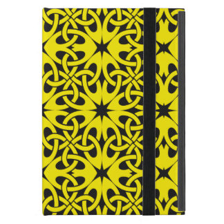 Yellow Celtic Knot CHOOSE YOUR OWN BACKGROUND Case For iPad Mini