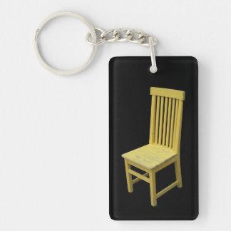 Yellow Chair Keychain