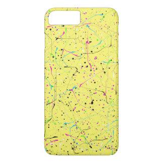 Yellow chaos iPhone 8 plus/7 plus case