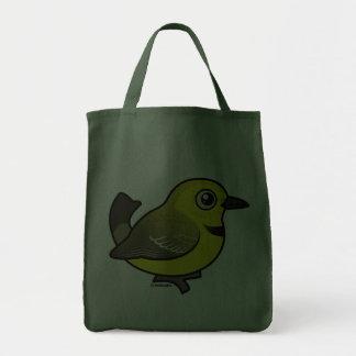 Yellow Chat Tote Bag