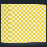 """Yellow Checkerboard Binder<br><div class=""""desc"""">This design is available on more products! Click the 'Available On' Link on this Product page to see them all!  Be sure to check out all options to customize your selection!  Thanks for looking!</div>"""