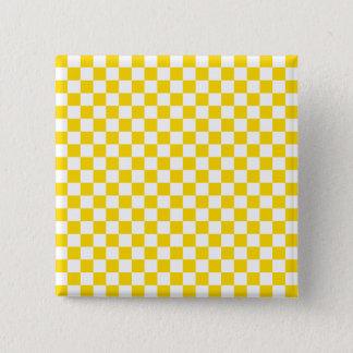 Yellow Checkerboard Button