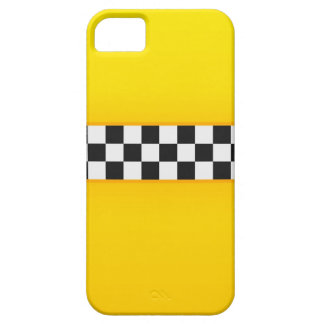 Yellow Checkerboard Pattern iPhone SE/5/5s Case