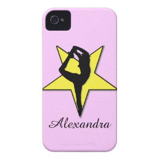 Yellow Cheerleader iPhone 4 Cover