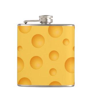 Yellow Cheese Pattern Flasks