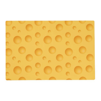 Yellow Cheese Pattern Placemat