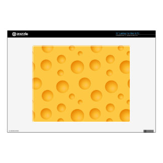 """Yellow Cheese Pattern Skins For 12"""" Laptops"""