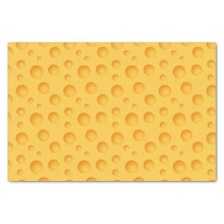 Yellow Cheese Pattern Tissue Paper