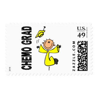 Yellow CHEMO GRAD 1 (Testicular Cancer) Stamps