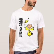 Yellow CHEMO GRAD 1 (Testicular Cancer) T-Shirt