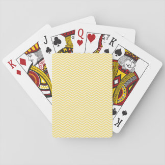 Yellow Chevron Card Deck