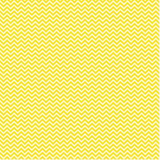 Yellow Chevron Cutout