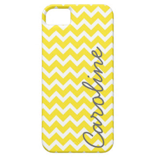 Yellow Chevron iPhone Case