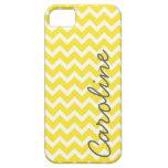 Yellow Chevron iPhone Case iPhone 5 Case