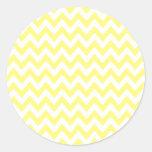 Yellow Chevron Stickers