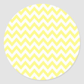 Yellow Chevron Stickers